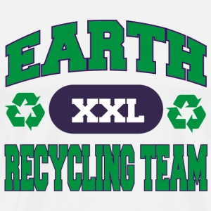 Earth Day Recylcing Team T-Shirt - Men's Premium T-Shirt