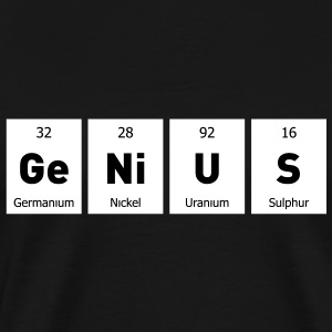 Genius T-Shirts - Men's Premium T-Shirt