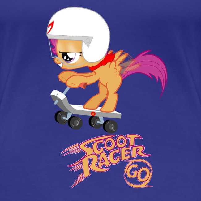 Scoot Racer Fillies' Tee