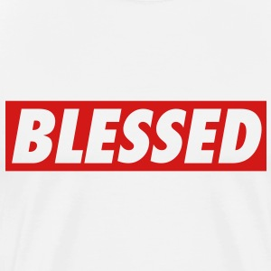 Men's Blessed T-Shirt - Men's Premium T-Shirt