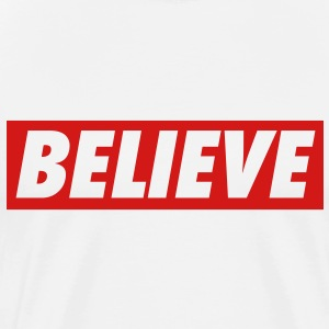 Men's Believe T-Shirt - Men's Premium T-Shirt
