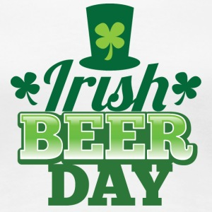 IRISH BEER DAY beers shamrock hat St Patrick's day Women's T-Shirts - Women's Premium T-Shirt
