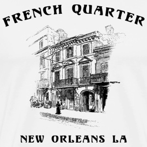 Mardi Gras French Quarter T-Shirt - Men's Premium T-Shirt