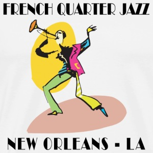 Mardi Gras French Quarter Jazz T-Shirt - Men's Premium T-Shirt