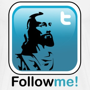 Jesus follow - Men's Premium T-Shirt
