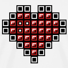 Tetris heart T-Shirts