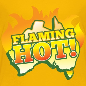 FLAMING HOT Australian fire flames Kids' Shirts - Kids' Premium T-Shirt
