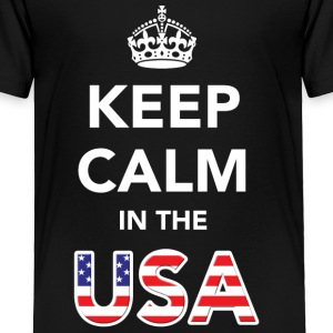 Keep Calm in the USA Baby & Toddler Shirts - Toddler Premium T-Shirt