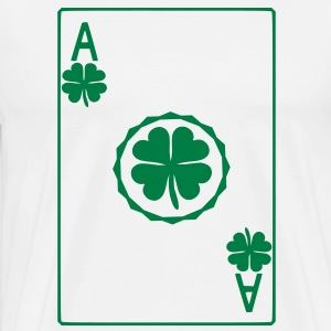 Ace of Shamrock T-Shirts - Men's Premium T-Shirt