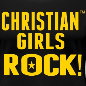 CHRISTIAN GIRLS ROCK! Women's T-Shirts - Women's Premium T-Shirt