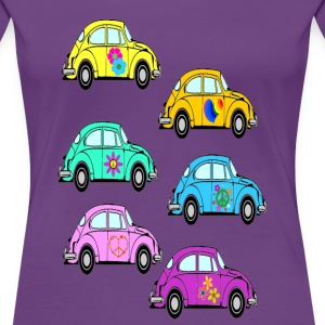 love bug woman's tshirt - Women's Premium T-Shirt