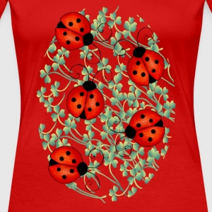 ladybugs woman's tshirt - Women's Premium T-Shirt
