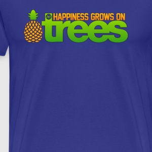 Happiness Grows on /r/trees - Men's Premium T-Shirt