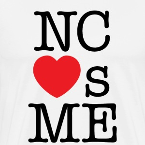 North Carolina Loves Me T-shirt - Men's Premium T-Shirt