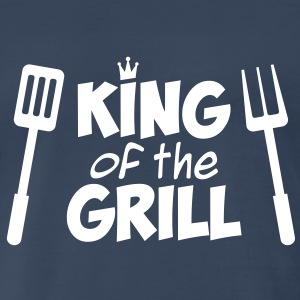 King of the Grill T-Shirt - Men's Premium T-Shirt