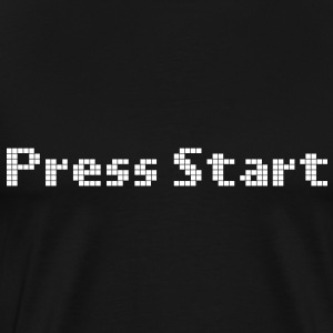 press start T-Shirts - Men's Premium T-Shirt