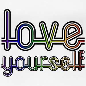 Love Yourself Women's T-Shirts - Women's Premium T-Shirt