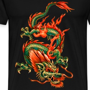 Oriental Dragon T-Shirts - Men's Premium T-Shirt