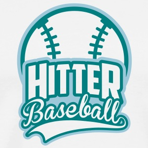 BASEBALL hitter_4light_2c T-Shirts - Men's Premium T-Shirt