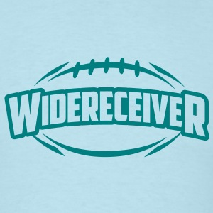 AMERICAN FOOTBALL widereceiver_4light_1c T-Shirts - Men's T-Shirt