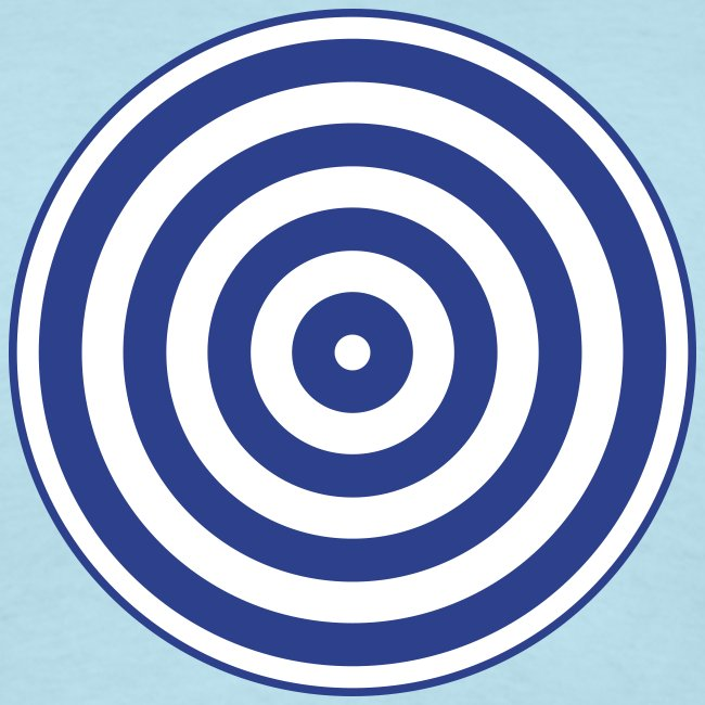 TRON classic (2 color disc, blue/white)