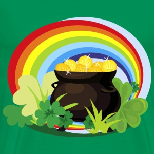 st patricks day pot of gold - Men's Premium T-Shirt