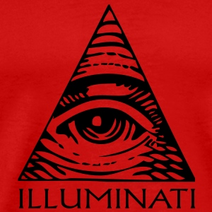 eye illuminati T-Shirts - Men's Premium T-Shirt