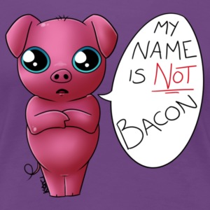 My Name is Not Pork - Women's Premium T-Shirt