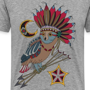 Fancy Owl - Men's Premium T-Shirt