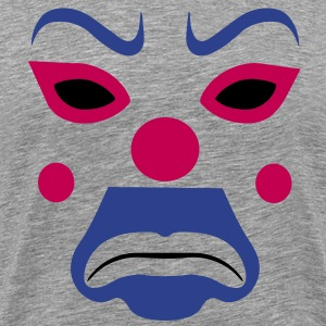 clown joker mask T-Shirts - Men's Premium T-Shirt