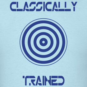 Design ~ TRON classically trained (blue)