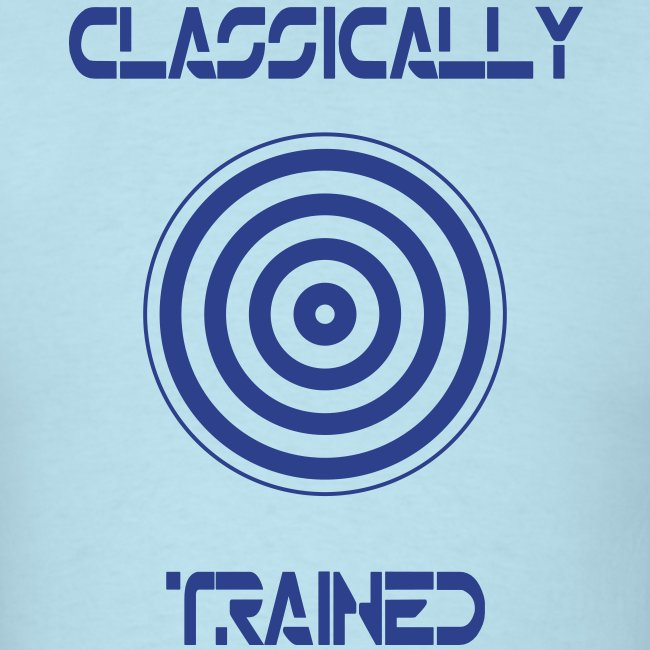 TRON classically trained (blue)