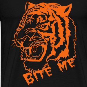 bite me  - Men's Premium T-Shirt