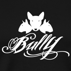 Bull Terrier Bully 3heads T-Shirts