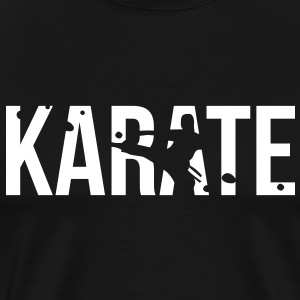 karate T-Shirts - Men's Premium T-Shirt