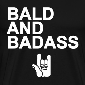 Bald and Badass - Men's Premium T-Shirt