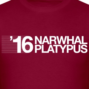 Narwhal + Platypus 2016 White T-Shirts - Men's T-Shirt