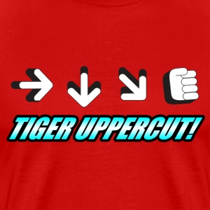 Tiger Uppercut T-Shirts - Men's Premium T-Shirt
