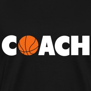 basketball coach T-Shirts - Men's Premium T-Shirt