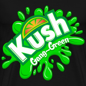 Kush Gang-Green - Men's Premium T-Shirt