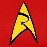 Design ~ Mission Log Red Shirt