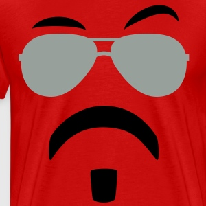 Soul Patch & Shades T-Shirts - Men's Premium T-Shirt