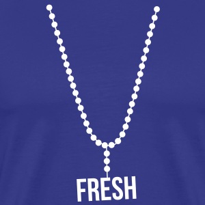 necklace chain fresh - Men's Premium T-Shirt