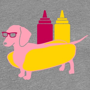 Weenie Dog Tee for Women - Women's Premium T-Shirt