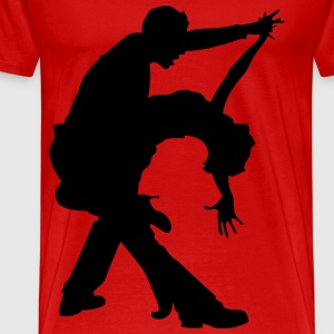 salsa dance - Men's Premium T-Shirt