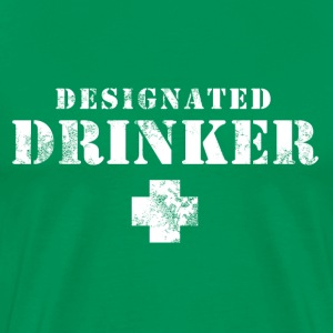 Designated Drinker T-Shirts - Men's Premium T-Shirt