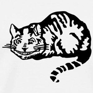 Cheshire cat T-Shirts - Men's Premium T-Shirt