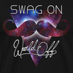 world off swag on T-Shirts - Men's Premium T-Shirt