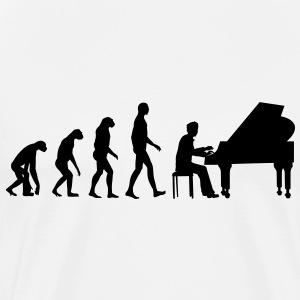 piano evolution T-Shirts - Men's Premium T-Shirt