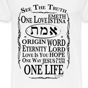 Truth and Life T-Shirts - Men's Premium T-Shirt
